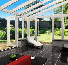 Lean to Conservatories, Lean To Conservatory Photographs, Gallery, Images