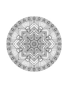 Click here to download this weeks coloring page- Mandala Printed and eBooks are available in our Shop