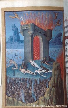 Book of Hours, MS M.677 fol. 250v - Images from Medieval and Renaissance Manuscripts - The Morgan Library & Museum