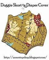 Free PDF pattern for sewing your own stylish Doggie Skort & Diaper Cover. Great for the … - Diy Sewing Projects Puppy Diapers, Free Diapers, Cloth Diapers, Diaper Cover Pattern, Dog Pattern, Pattern Sewing, Crochet Pattern, Free Pattern, Dog Clothes Patterns