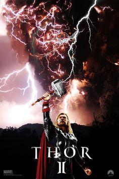 Thor 2 movie poster by DComp on DeviantArt See Movie, Movie Tv, Thor 2017, We Have A Hulk, World Movies, The Dark World, Film Music Books, Knight