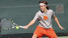 #23 Clemson Defeats #40 South Carolina 4-1 - http://beachcarolina.com/?p=92309 ---    #Alejandro Augusto #Clemon tennis #Clemson Tigers #Clemson Tigers tennis #Clemson University #Gamecock tennis #South Carolina tennis #Tigers tennis