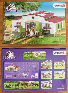 Animals and Nature 31744: New Schleich #42344 Horse Club Riding Center With Accessories -> BUY IT NOW ONLY: $152.99 on eBay!