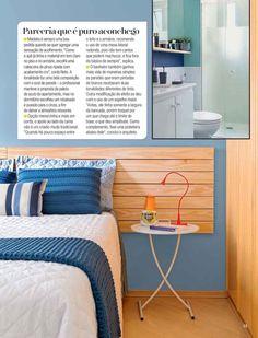 Cabeceira Ripada Paint na Revista Minha Casa! <3