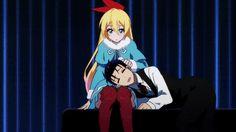 Chitoge & Raku - Anime Is What I Live For