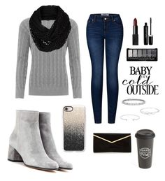 """""""🍩😍"""" by abbynharrison ❤ liked on Polyvore featuring WearAll, Gianvito Rossi, NARS Cosmetics, The North Face, Marc Jacobs, Casetify, The Created Co., Blue Nile and 2LUV"""