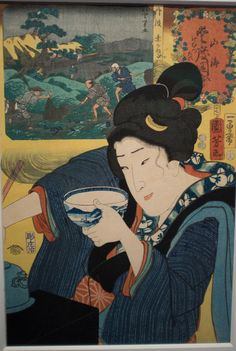 Ukiyo-e (pictures of the floating world)  For three hundred years (17th - 20th century) Ukiyo-e was the dominant style of art in Japan (woodblock prints). Ukiyo-e often featured courtesans, geisha and actors. By the end of the Edo-era the technology existed to mass produce books of ukiyo-e prints in color. In many ways these popular graphic novels resembled today's Japanese manga.