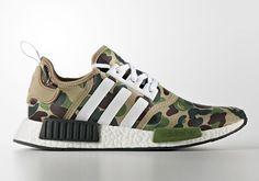 BAPE x adidas NMD First Look | SneakerNews.com