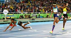 Reprezentantka Wysp Bahama Shaunne Miller pokonała po fantastycznym finiszu…