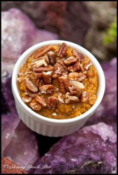 Skinny Sweet Potato Mash with Pecans from Skinny Crock Pot - yummmm!
