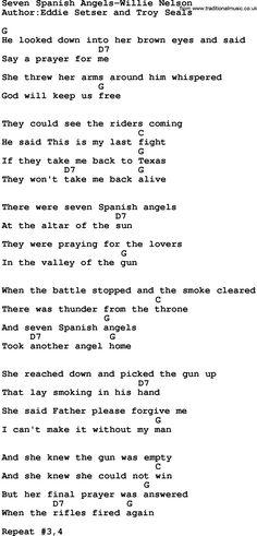 7 spanish angels chords