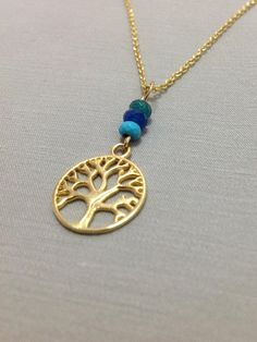 Tree Of Life Pendant Tree of Life Necklace 14k gold filled