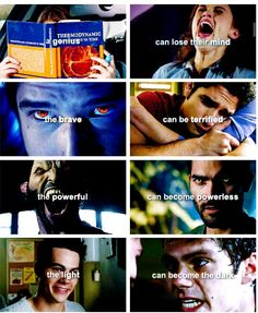 Teen Wolf- goes along with the theory of the triskele one can become the other.