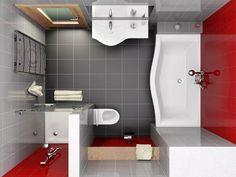планировка квадратной ванной комнаты 9 - Поиск в Google