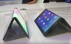 Сгибающийся планшет Lenovo сняли на видео http://vecherka.news/sgibayushhijsya-planshet-lenovo-snyali-na-video.html  Устройство представляет собой работающий прототип складного гаджета.