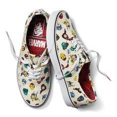 5e45ad8f196536 Vans x Marvel Authentic Marvel Shoes