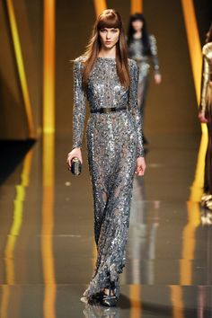 ELIE SAAB FALL 2012 Fashion Week