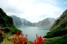 Mt. Pinatubo Crater Lake, Tarlac Philippines