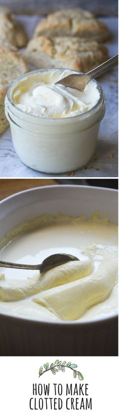 Homemade Clotted Cream - I've been looking for this for years!  You only need non ultra - pasteurized cream, a baking dish and an oven!