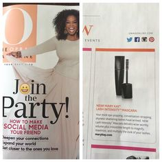 Mary Kay Lash Intensity Mascara featured in Oprah http://www.marykay.com/lisahabbe