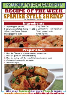 Ideal Protein Spanish Shrimp Green Chiropractic West Omaha www.greenchiropractic.com