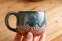 Moroccan Whiskey Sipper, Handmade Pottery, Coffee Cup or Teacup – Giselle No. 5 Ceramics Moroccan Whiskey Sipper, Handmade Pottery, Coffee Cup or Teacup – Giselle No. Pottery Mugs, Ceramic Pottery, Ceramic Art, Pottery Art, Painted Pottery, Pottery Gifts, Pottery Teapots, Glazes For Pottery, Ceramic Coffee Cups