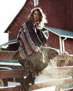 Andreea Diaconu for Vogue Spain October 2015