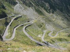 According to Top Gear, the Transfagarasan Highway is the best road in the world.  Boy do I want to give it a shot.