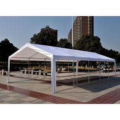Buy Home Large Pop Up Square 2 4m X 2 4m Garden Gazebo At