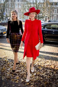 Queen Mathilde of Belgium and King Philippe of Belgium On A 3 Day Official Visit In Holland : Day Two