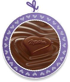 Schokoladen Mood I Love Milka
