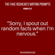 TFR's Writing Prompt 242