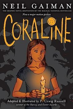 Coraline: Graphic Novel by Neil Gaiman