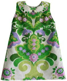 Gratis patroon jurkje maat 86/92 met peter pan kraagje