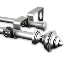 Palace Double Curtain Rod and Hardware Set