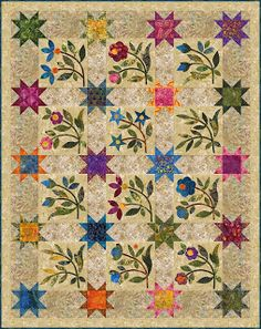 "#Aurifil designer Edyta Sitar is featured on Moda Fabrics United Notions The Cutting Table with words of advice for anyone that may be afraid of applique. "" Edyta likes to use one of her two favorite methods of stitching using her Aurifil threads""   To read more of the interview with Edyta visit http://modafabrics.blogspot.com/2013/02/afraid-of-applique-edyta-sitar-offers.html"