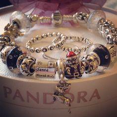 Pandora Christmas bracelet :)