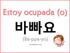 Spanish to Korean Korean Words Learning, Korean Language Learning, Learn A New Language, Learn Basic Korean, How To Speak Korean, Korean Phrases, Korean Quotes, The Words, Learn Hangul