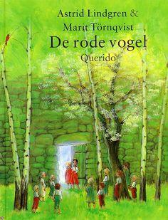 """De rode vogel"" Astrid Lindgren"