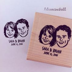 Custom Face Stamp @lilimandrill www.lilimandrill.fr #etsy #couples portraits #etsygifts #etsywedding #wedding #mariage #bride #diy #couple #stamp #rubberstamp #shopsmall #handmade #gift #weddinggift #invitations #weddinginvitations #invites #etsylove #etsymatch #engagement #bridesmaid