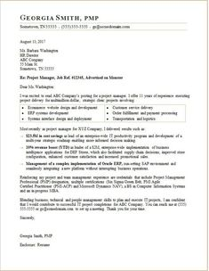 Pin oleh Joko di Business Templates | Cover letter template ...