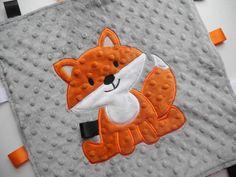 Fox Minky Taggie
