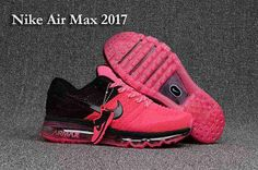 Free Shipping Nike Air Max 2017 +3 Women Pink Black