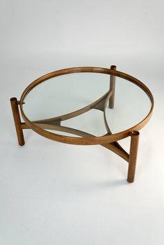 Gianfranco Frattini; Coffee Table for Cassina, 1959.