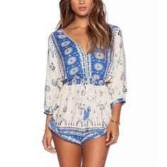 Romper Brand new! Super cute! 15% off of bundles! FEEL LIKE MAKING AN OFFER? Please do it through the make an offer feature as I will no longer negotiate prices in the comments section. PRICE IS FINAL ON ITEMS $15 or less unless bundled. Dresses