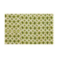 Celery Daphne Ikat Fabric