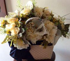 Canasta de florecitas
