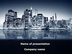 New york city powerpoint template pinterest template and city httppptstarpowerpointtemplatechicago shore chicago shore presentation template toneelgroepblik Image collections