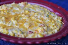 Awesome dip recipes, like Hot Corn Dip and Carmelized Onion Dip