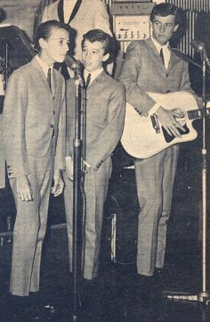 The brothers Gibb very young singers.